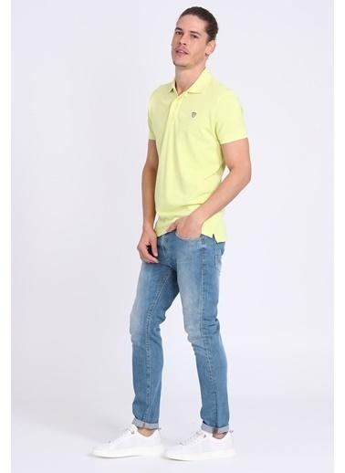 Lufian Polo Yaka Tişört Sarı